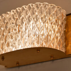 The image for Pair Italian 1950S Curved Wall Lights 03