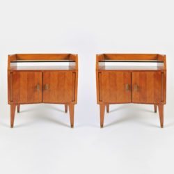 The image for Pair Italian 50S Bedsides 01