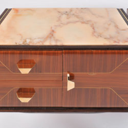 The image for Pair Italian Bedsides Marble Tops 05