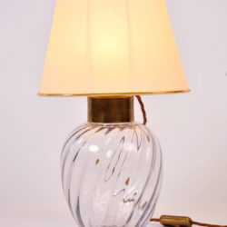 The image for Pair Italian Glass Lamps 02