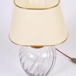 The image for Pair Italian Glass Lamps 04