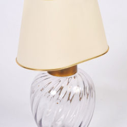 The image for Pair Italian Glass Lamps 05