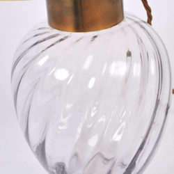 The image for Pair Italian Glass Lamps 06