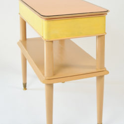 The image for Pair Italian Painted Bedsides 02