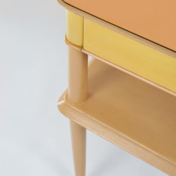 The image for Pair Italian Painted Bedsides 04