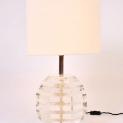 The image for Pair Lucite Ball Lamps 02