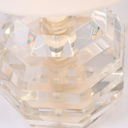 The image for Pair Lucite Ball Lamps 03