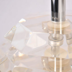 The image for Pair Lucite Ball Lamps 04