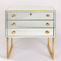 The image for Pair Mirrored Bedsides 03