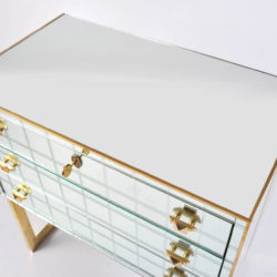 The image for Pair Mirrored Bedsides 04