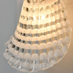 The image for Pair Murano Glass Striped Wall Lights 04