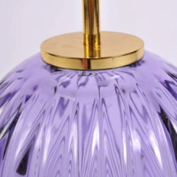 The image for Pair Purple Vase Lamps 04