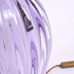 The image for Pair Purple Vase Lamps 06