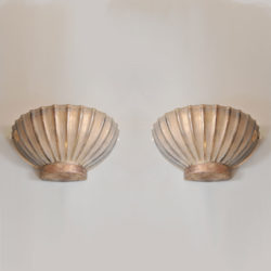 The image for Pair Seguso Scallop Lights 01 Vw