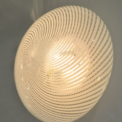 The image for Pair Swirl Circular Wall Lights 03