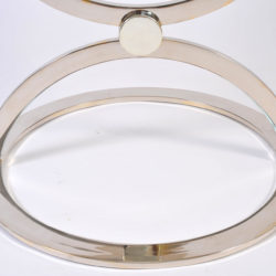 The image for Pair Us Chrome Circular Sidetables 06