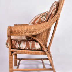The image for Pair Us Wicker Armchairs 03