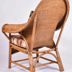 The image for Pair Us Wicker Armchairs 04