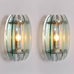 The image for Pair Veca Wall Lights 01