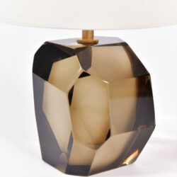 The image for Pair Bronze Rock Lamps 02