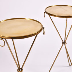 The image for Pair Gueridons Bronze Tables 04