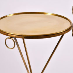 The image for Pair Gueridons Bronze Tables 06