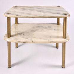 The image for Pair Marble Topped Side Tables 04