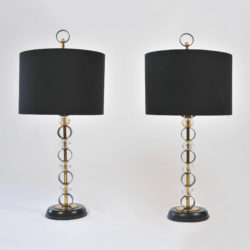 The image for Pair Of Adnet Lamps 01
