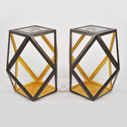 The image for Pair Of Geometric Side Tables 02