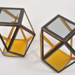 The image for Pair Of Geometric Side Tables 03