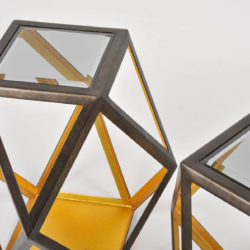 The image for Pair Of Geometric Side Tables 04