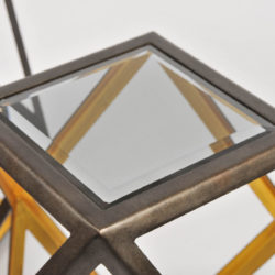 The image for Pair Of Geometric Side Tables 05