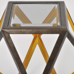 The image for Pair Of Geometric Side Tables 06