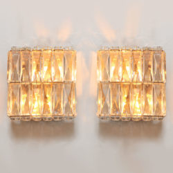 The image for Pair Of Jewelled Wall Lights 01