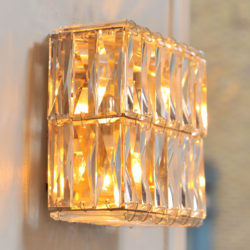 The image for Pair Of Jewelled Wall Lights 03