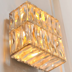 The image for Pair Of Jewelled Wall Lights 04