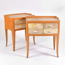 The image for Pair Parchment Bedsides 02