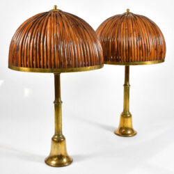 The image for Rattan Table Lamp Crespi 02