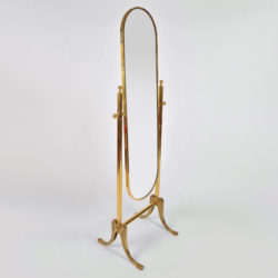 The image for Standing Brass Mirror 02