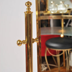 The image for Standing Brass Mirror 04