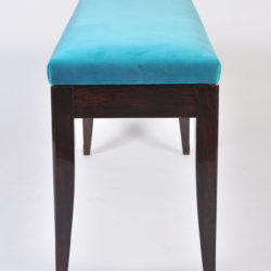 The image for Turquoise Velvet Stool 03