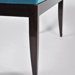 The image for Turquoise Velvet Stool 05