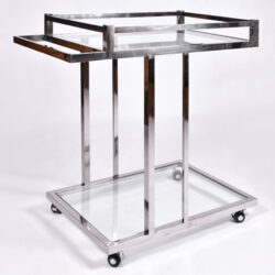 The image for Us 1970S Chrome Drinks Trolley 02