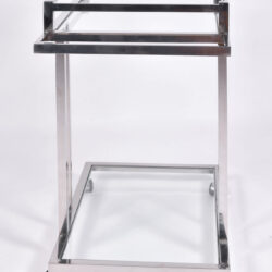 The image for Us 1970S Chrome Drinks Trolley 03
