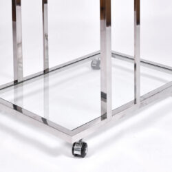 The image for Us 1970S Chrome Drinks Trolley 05