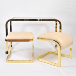 The image for Us Brass Desk And Stools 01