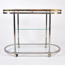 The image for Us Chrome Brass Trolley 02