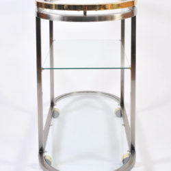 The image for Us Chrome Brass Trolley 05