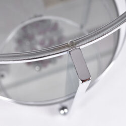 The image for Us Circular Chrome Drinks Trolley 04