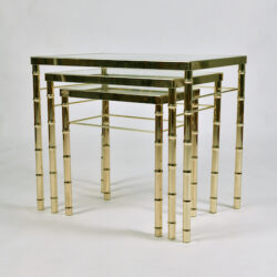The image for Us Brass Nest Tables 3 Final